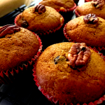 cooked pumpkin muffins